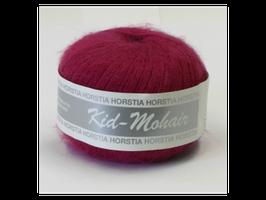 Kid-Mohair Farbe 137 rotviolett
