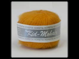 Kid-Mohair Farbe 124 gelborange
