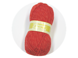 Shetland Farbe 2 rot
