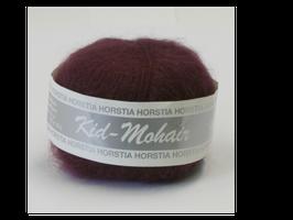 Kid-Mohair Farbe 139 schwarzrot