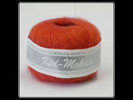 Kid-Mohair Farbe 129 lachsrot