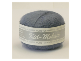 Kid-Mohair Farbe 117 taubenblau