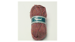 Horstia Tweed Farbe 6 helllila
