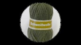 Horstia Schweißwolle F Farbe 82 braungrün
