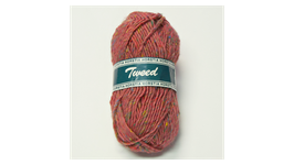Horstia Tweed Farbe 14 rötlich