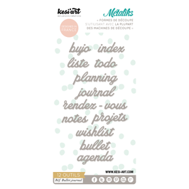 métaliks bullet journal