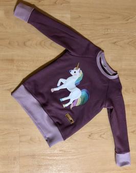 3023-127-S Pullover mit Einhornstick