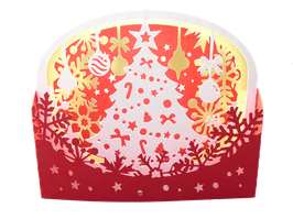 Diorama Sapin de Noël