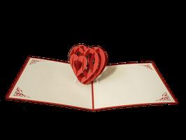 Coeur 3D debout