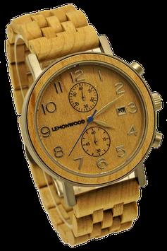 """Chronograph aus Ahornholz, """"Savannah"""""""