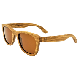 """Sonnenbrille aus Zebranoholz, """"Frame Zebrano"""""""