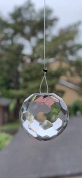 Bergkristall-Lichtkristall, Kugel - 1