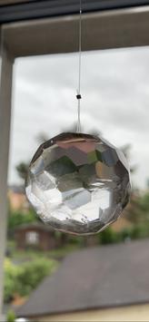 Bergkristall-Lichtkristall, Kugel - 3
