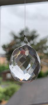 Bergkristall-Lichtkristall, Kugel - 2