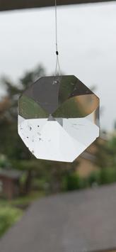 Bergkristall-Lichtkristall, 8-eck