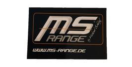 MS-Range Aufkleber 8x4cm
