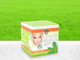 Palacio – Gesichtscreme Crystal Jar 12% Cannabis BIO Öl 50ml