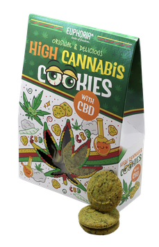 High Cannabis Cookies mit CBD 100g