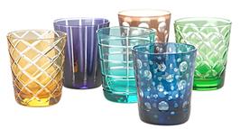GLASS TUMBLER CUTTINGS