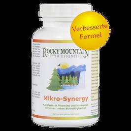 MikroSynergy Multivitamin und -mineralien (120 Kapseln)