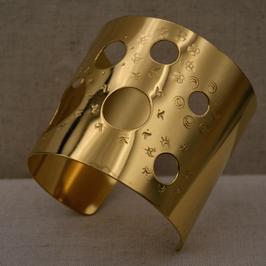 Bracelet manchette large