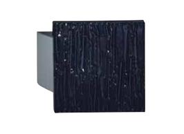 KWS 8219 Türgriff 150 x 150 x 18 mm, Farbe Schwarz, Relief