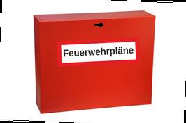 Wandschrank / Depot für Feuerwehrpläne PZ