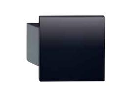 KWS 8210 Türgriff 150 x 150 x 18 mm,  Farbe schwarz, glatt