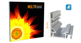 multi frame - LED Leuchtkasten - Profil 65, inkl. Druck
