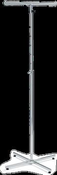 Konfektionsständer mit 2 geraden Armen, höhenverstellbar