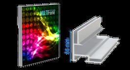 multi frame - LED Leuchtkasten - Profil 35, inkl. Druck
