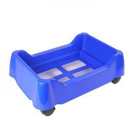Korbstapelwagen rollbar: Kunststoff