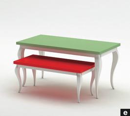 Tische Ladenbau Linea Sette E