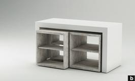 Tisch Ladenbau Linea Due B