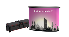 pop up counter2, inkl. Druck
