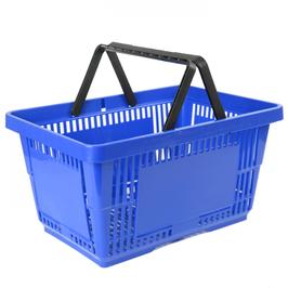 Einkaufskorb Groß: Kunststoff, Doppelgriff