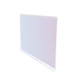 Scannerschiene DBR 39: Farbe: Klar, klebbar