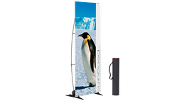 Outdoor penguin, Windfest, inkl. Druck