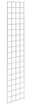 Dekogitter 180x40 cm, verchromt