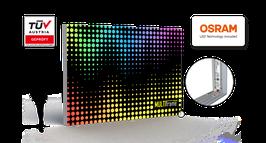 LED Leuchtkasten H500-H1200 - Profil 80, inkl. Druck