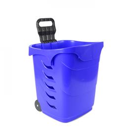 EASYSHOPPER-Trolley rollbar: Kunststoff, Teleskopstab