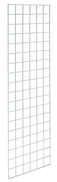 Dekogitter 180x60 cm, verchromt