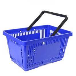 Einkaufskorb Groß: Kunststoff, Einzelgriff