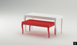 Tisch Ladenbau Linea Zero I