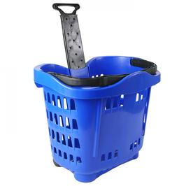 GENSLIDE-Trolley rollbar: Kunststoff, Teleskopstab und Einzelgriff