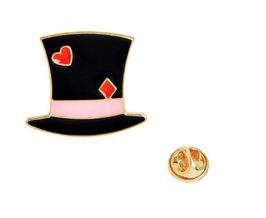 Romantic Hat Pin Brooch