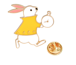 Romantic Rabbit  Pin Brooch