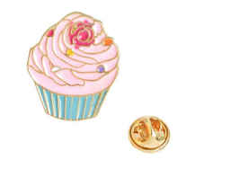 Cute Cup Cake Brooch
