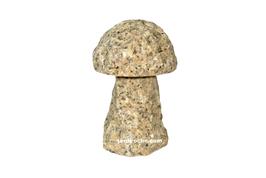 Champignon en granite jaune 15 cm