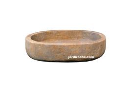 Pot en roche naturelle 35 cm